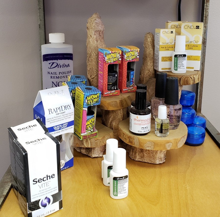 Retail Products - Attitudes Hair and Nail Salon
